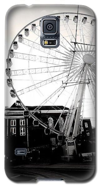 The Wheel Black And White Galaxy S5 Case
