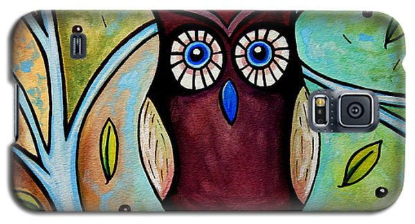 The Whimsical Owl Galaxy S5 Case