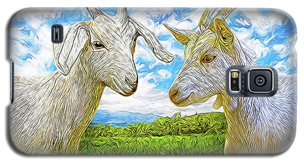 The Whispers Of Goats Galaxy S5 Case by Joel Bruce Wallach