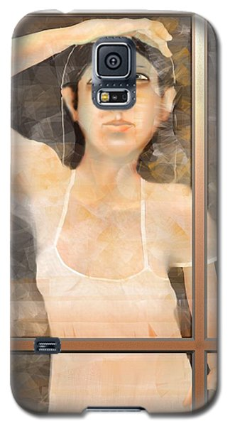 The White Dress Galaxy S5 Case