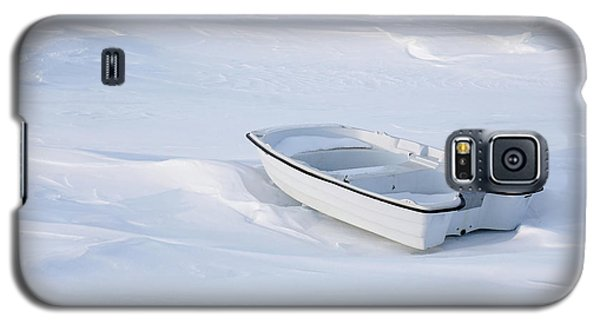 The White Fishing Boat Galaxy S5 Case