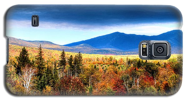 Galaxy S5 Case featuring the photograph The White Mountains Autumn by Tom Prendergast