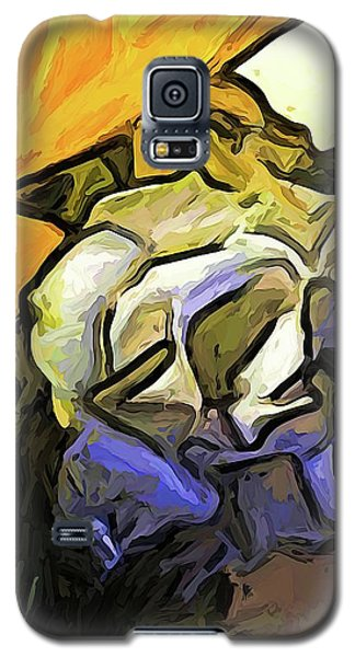The White Rose And The Yellow Petals Galaxy S5 Case