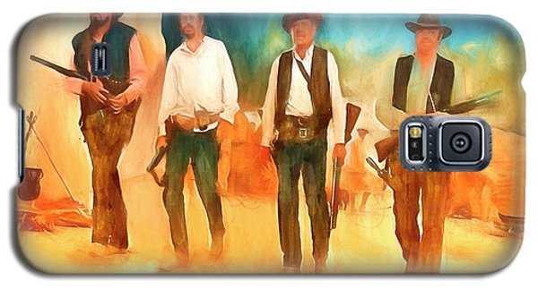 Galaxy S5 Case featuring the painting The Wild Bunch by Michael Cleere
