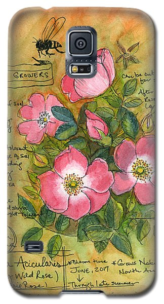 The Wild Rose Galaxy S5 Case