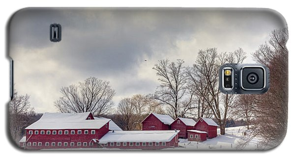 Galaxy S5 Case featuring the photograph The Williams Farm by Susan Cole Kelly