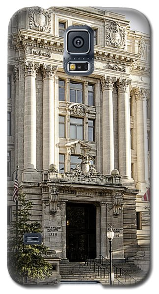 Galaxy S5 Case featuring the photograph The Wilson Building by Greg Mimbs