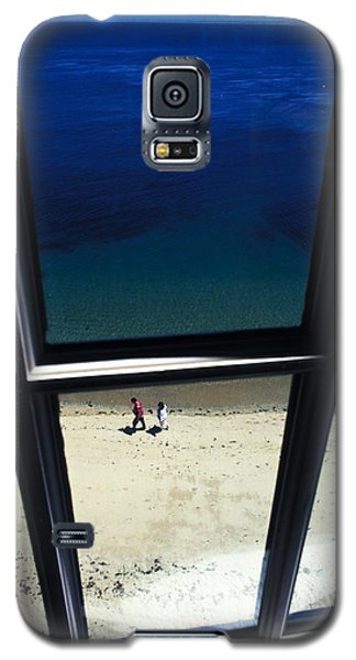 Galaxy S5 Case featuring the photograph The Window by Carl Purcell