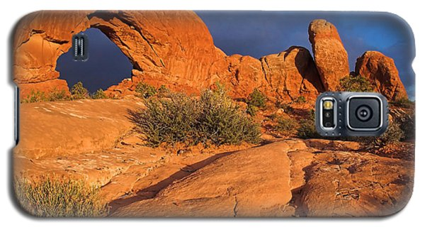 Galaxy S5 Case featuring the photograph The Window by Steve Stuller