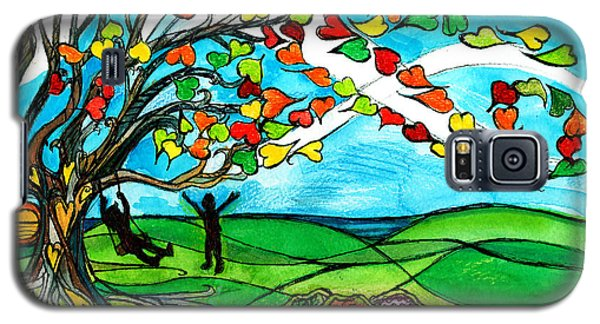 The Windy Tree Galaxy S5 Case by Genevieve Esson