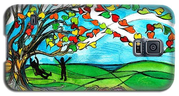 The Windy Tree Galaxy S5 Case