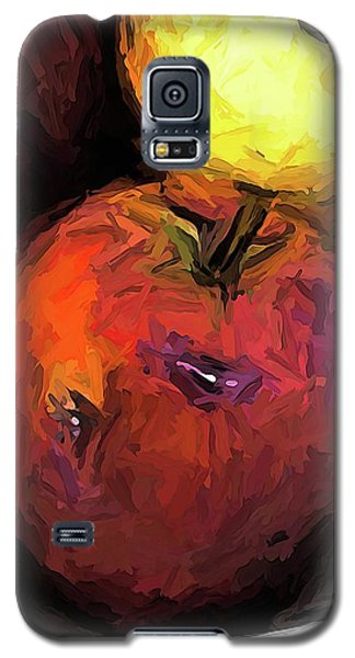 The Wine Apple With The Gold Apples Galaxy S5 Case