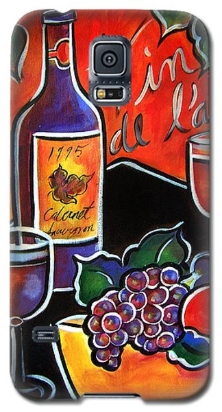 Galaxy S5 Case featuring the painting The Wine Of Love by Jan Oliver-Schultz