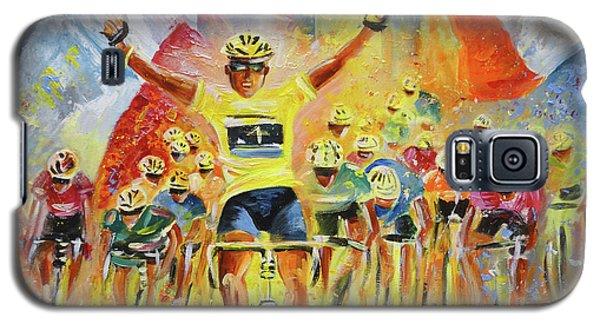 The Winner Of The Tour De France Galaxy S5 Case