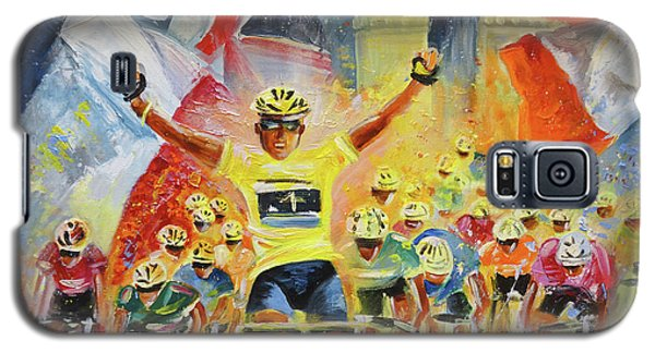 The Winner Of The Tour De France Galaxy S5 Case