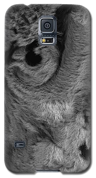 The Old Owl That Watches Blk Galaxy S5 Case by ISAW Gallery