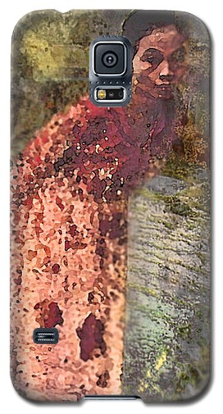 The Woman At His Tomb Galaxy S5 Case