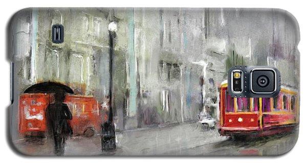 The Woman In The Rain Galaxy S5 Case