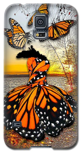 Galaxy S5 Case featuring the mixed media The Wonder Of You by Marvin Blaine