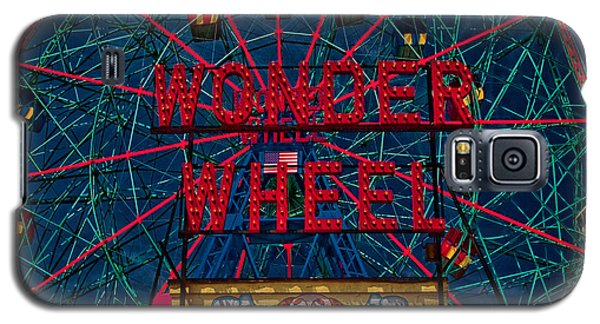 The Wonder Wheel At Luna Park Galaxy S5 Case