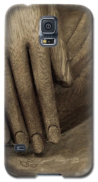 The Wooden Hand Of Peace Galaxy S5 Case