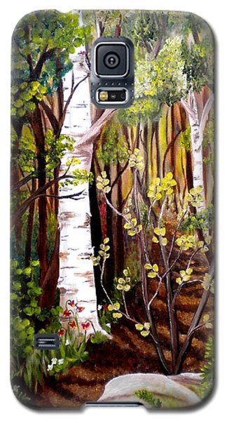 The Woodland Trail Galaxy S5 Case