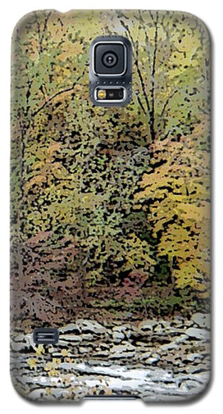 Galaxy S5 Case featuring the photograph The Woods by Skyler Tipton