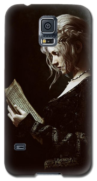 Galaxy S5 Case featuring the digital art The Word by Shanina Conway