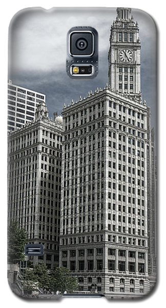 The Wrigley Building Galaxy S5 Case by Alan Toepfer