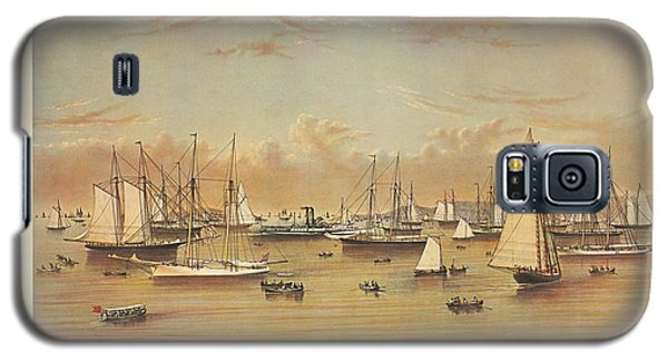 The Yacht Squadron At Newport Galaxy S5 Case