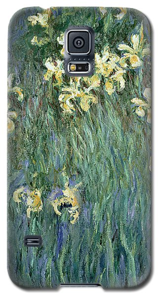 The Yellow Irises Galaxy S5 Case by Claude Monet