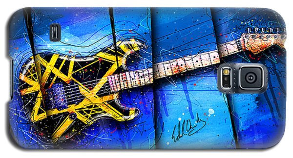 Van Halen Galaxy S5 Case - The Yellow Jacket by Gary Bodnar