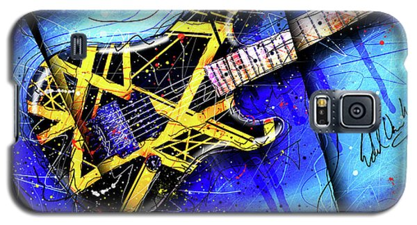 Van Halen Galaxy S5 Case - The Yellow Jacket_cropped by Gary Bodnar