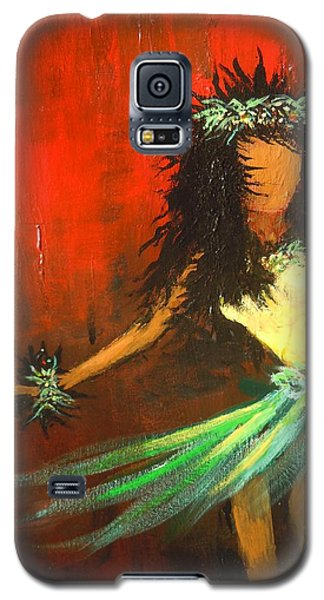 Galaxy S5 Case featuring the painting The Young Dancer by Dan Whittemore