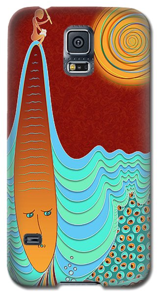 The Young Man And The Sea Galaxy S5 Case