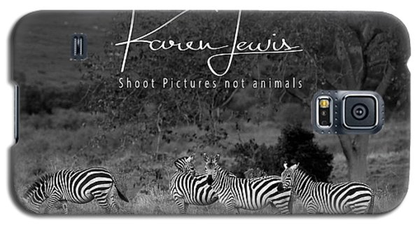 Galaxy S5 Case featuring the photograph The Zebra Tree by Karen Lewis