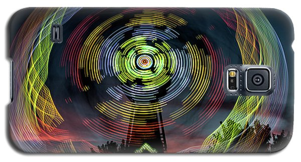 The Zipper Motion Art By Kaylyn Franks Galaxy S5 Case