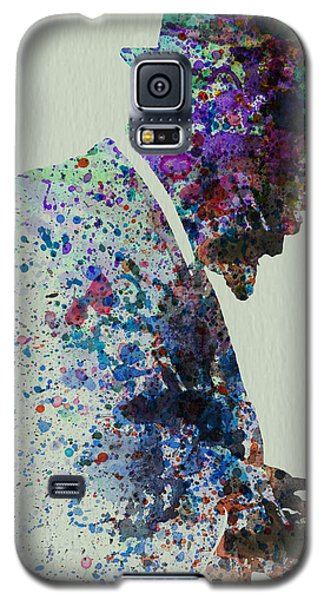 Thelonious Monk Watercolor 1 Galaxy S5 Case by Naxart Studio