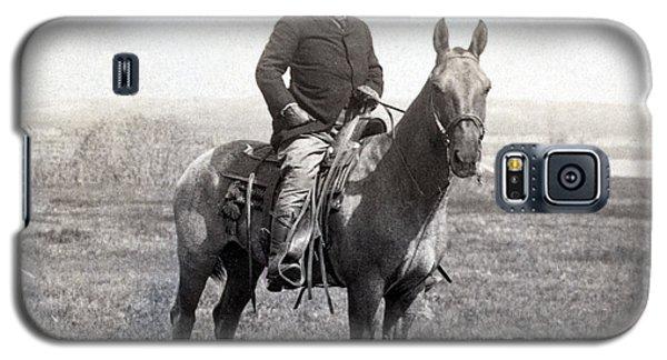 Theodore Roosevelt Horseback - C 1903 Galaxy S5 Case