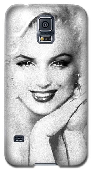 Theo's Marilyn 133 Bw Galaxy S5 Case