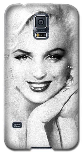 Theo's Marilyn 133 Bw Galaxy S5 Case