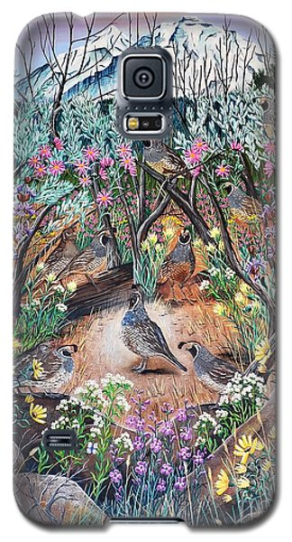 Galaxy S5 Case featuring the painting There's One In Every Crowd by Jennifer Lake