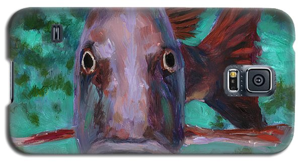 There's Something Fishy Going On Here Galaxy S5 Case by Billie Colson