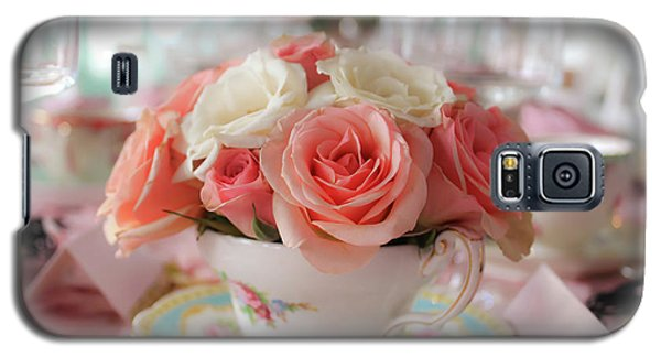 Teacup Roses Galaxy S5 Case