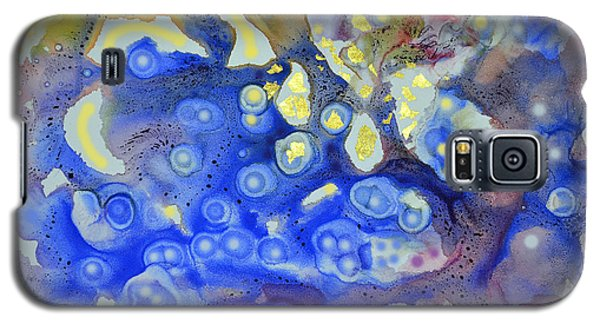 Galaxy S5 Case featuring the painting Thermal Tapestry by Joan Hartenstein