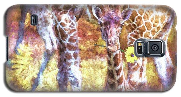 The Whimsical Giraffe  Galaxy S5 Case
