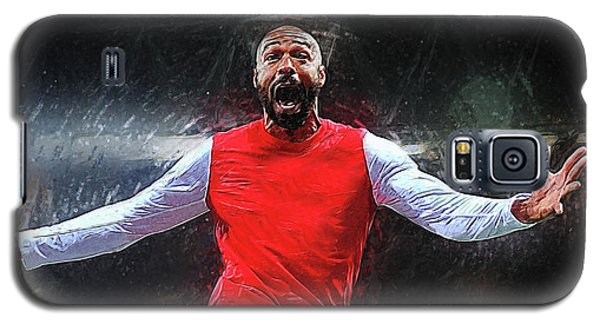 Thierry Henry Galaxy S5 Case by Semih Yurdabak