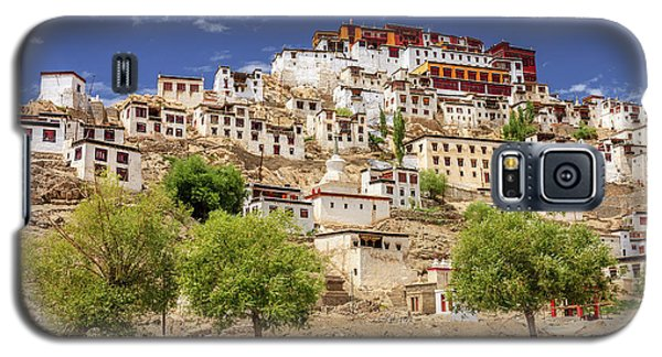 Galaxy S5 Case featuring the photograph Thikse Monastery by Alexey Stiop