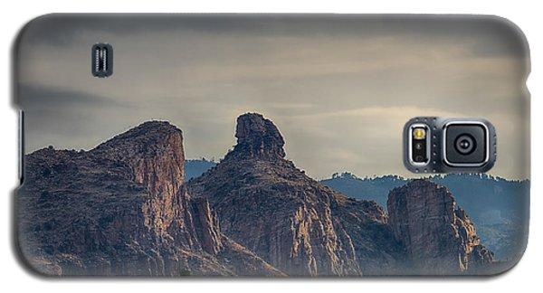 Galaxy S5 Case featuring the photograph Thimble Peak Sunrise by Dan McManus