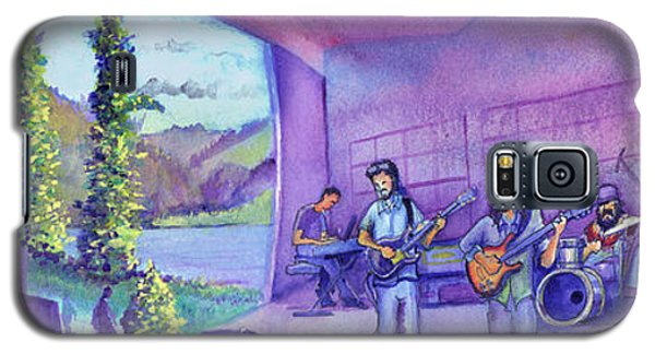 Galaxy S5 Case featuring the painting Thin Air At Dillon Amphitheater by David Sockrider